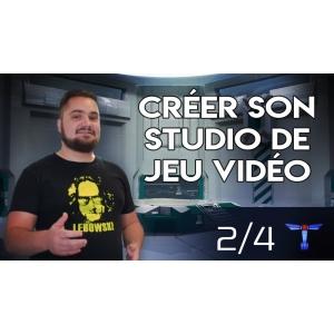 Photo de [Vidéo] Retour d'expérience : Créer son studio de jeu vidéo indépendant -2/4