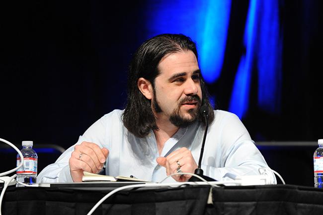 Ian Bogost lors de la Game Developers Conference de 2011
