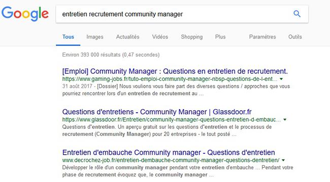 Etre dans les premiers résultats google dans le jeu vidéo
